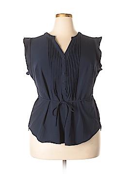 Fervour Short Sleeve Blouse Size 1X (Plus)