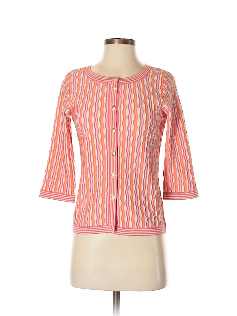 Sigrid Olsen Women Silk Cardigan Size S