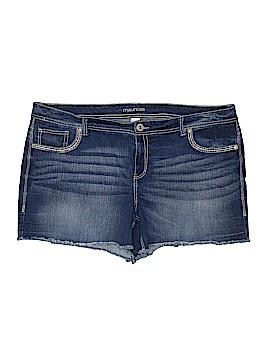Maurices Denim Shorts Size 24 (Plus)