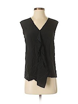 Mossique Sleeveless Silk Top Size XS