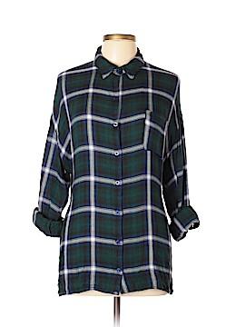 Mine Long Sleeve Button-Down Shirt Size L