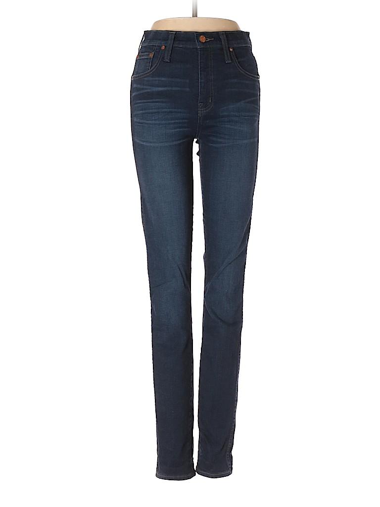 fa2de18937e20 Madewell Solid Dark Blue Jeans Size 26 Tall L (Tall) - 80% off