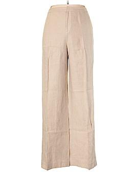 Linda Allard Ellen Tracy Linen Pants Size 14