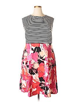 Sandra Darren Casual Dress Size 22 (Plus)