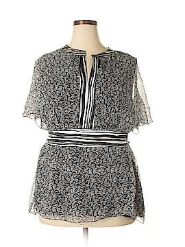 Silkland Sleeveless Silk Top Size 1X (Plus)