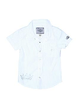 Kingsley Short Sleeve Button-Down Shirt Size 3T