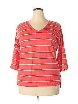 Nautica 3/4 Sleeve T-Shirt Size XXL