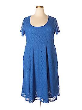 Slinky Brand Casual Dress Size 2X (Plus)