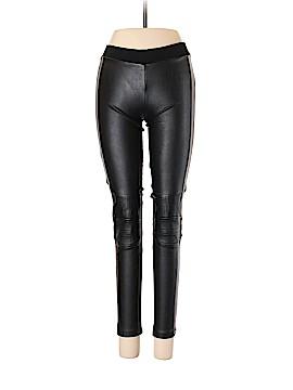 Zara W&B Collection Faux Leather Pants Size 5