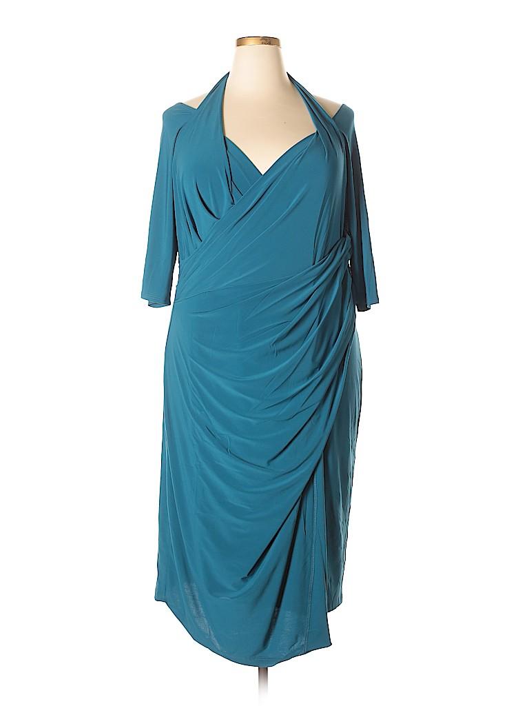 Kiyonna Women Casual Dress Size 3 (Plus)