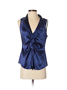 T Tahari Sleeveless Silk Top Size S