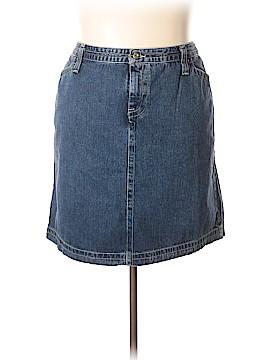 Tommy Hilfiger Denim Skirt Size 22 (Plus)