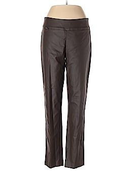 Peck & Peck Faux Leather Pants Size 12
