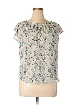 Lauren Conrad Short Sleeve Blouse Size L
