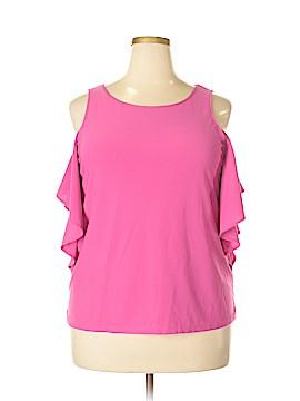 Kensie Short Sleeve Top Size XL