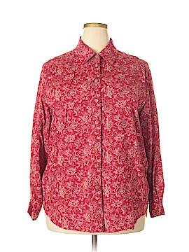 Elisabeth by Liz Claiborne Long Sleeve Blouse Size 16