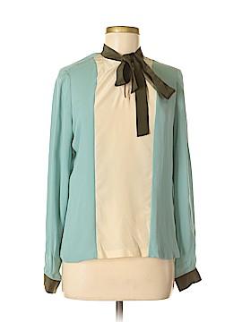 Raoul Long Sleeve Silk Top Size 8