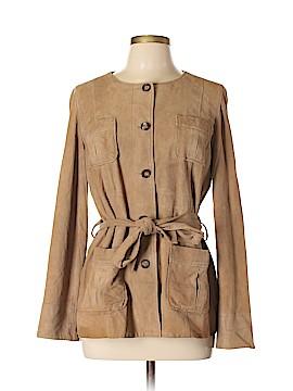 Gerard Darel Leather Jacket Size 12 (44)