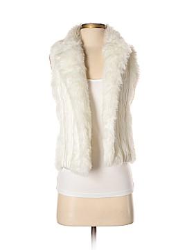 XOXO Faux Fur Vest Size S
