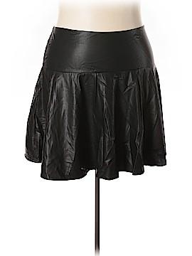 Lane Bryant Faux Leather Skirt Size 24 (Plus)