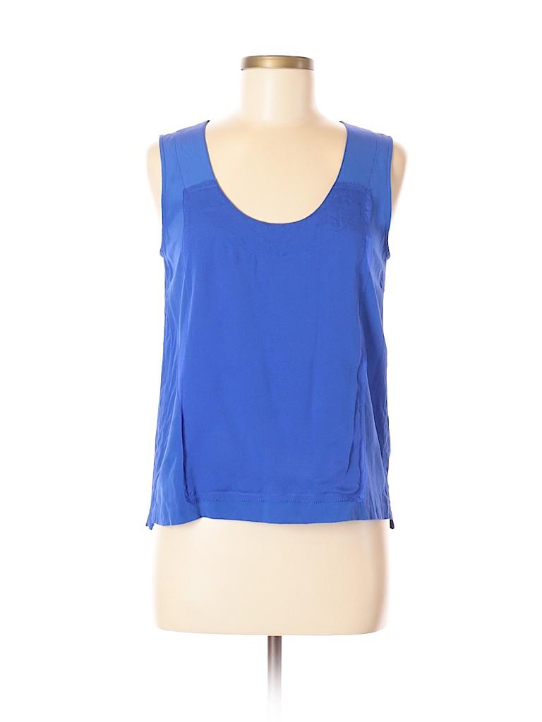 Cluny Women Sleeveless Silk Top Size 6