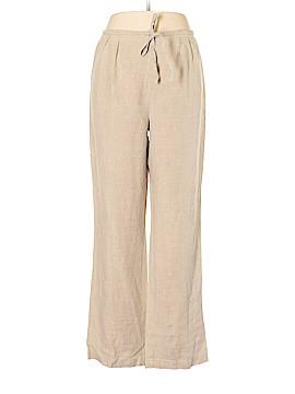 Newport News Linen Pants Size 14