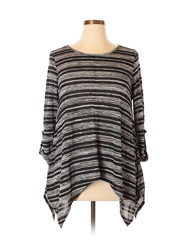BCBGMAXAZRIA Women 3/4 Sleeve Top Size XL