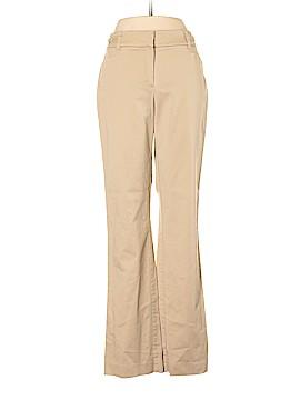 7th Avenue Design Studio New York & Company Khakis Size 10 (Tall)