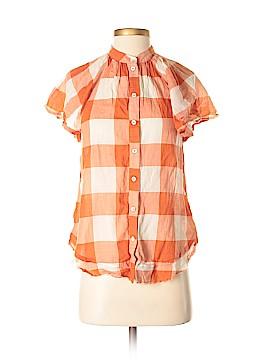 Maeve Short Sleeve Button-Down Shirt Size XS