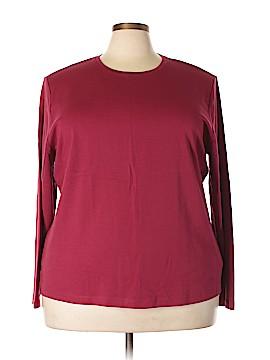 L.L.Bean Long Sleeve T-Shirt Size 3X (Plus)