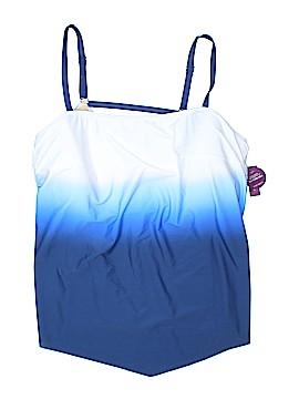 Swim by Cacique Swimsuit Top Size 26 (Plus)