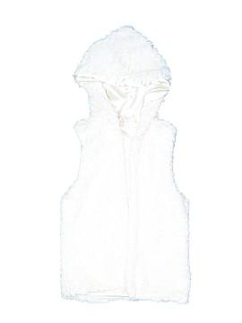 Beautees Faux Fur Vest Size 6