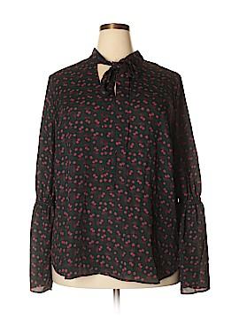 Worthington Long Sleeve Blouse Size 2X (Plus)