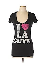 Minky Brand Women Short Sleeve T-Shirt Size M