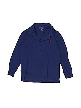 Polo by Ralph Lauren Long Sleeve T-Shirt Size 4T - 4