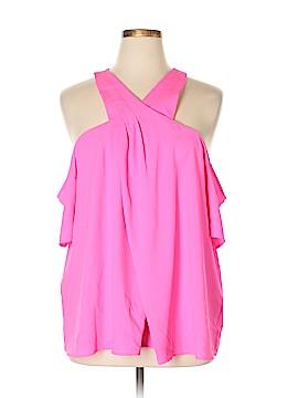 RACHEL Rachel Roy Short Sleeve Blouse Size 20 (Plus)