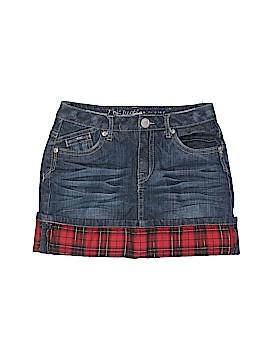 Justice Denim Skirt Size 8