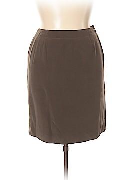 Jones New York Silk Skirt Size 14