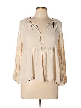 Noble U Long Sleeve Blouse Size M