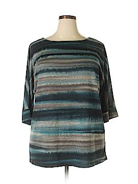 Elementz 3/4 Sleeve T-Shirt Size 2X (Plus)
