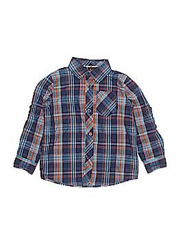 Tony Hawk Long Sleeve Button-Down Shirt Size 3T