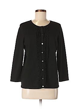Amber Sun Silk Cardigan Size M