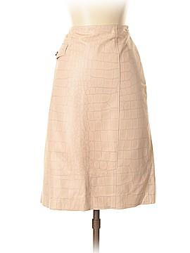 Worth New York Leather Skirt Size 4