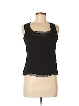 AKRIS Sleeveless Silk Top Size 8