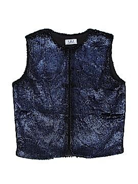 Miss MeMe Faux Fur Vest Size 14