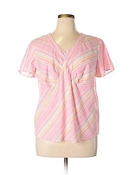 Venezia Short Sleeve Blouse Size 14 - 16 Plus (Plus)