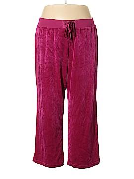 Just My Size Velour Pants Size 3X (Plus)