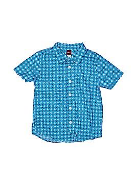Tea Short Sleeve Button-Down Shirt Size 5