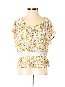 Topshop Short Sleeve Blouse Size 0