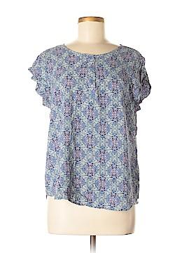 Rose & Thyme Short Sleeve Blouse Size XL